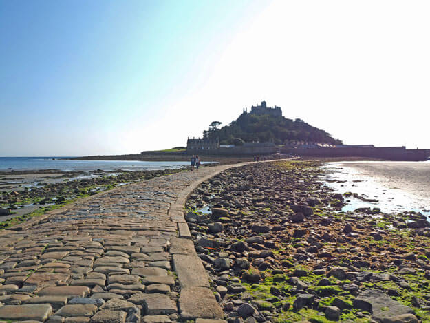 St. Michael's Mount, Cornwall, which ihelped inspire 'Emily WIndnsap and the Castle in the Mist'